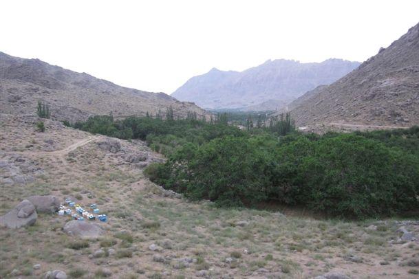 تصاویر روستاي طزرجان و برفخانه شيرکوه