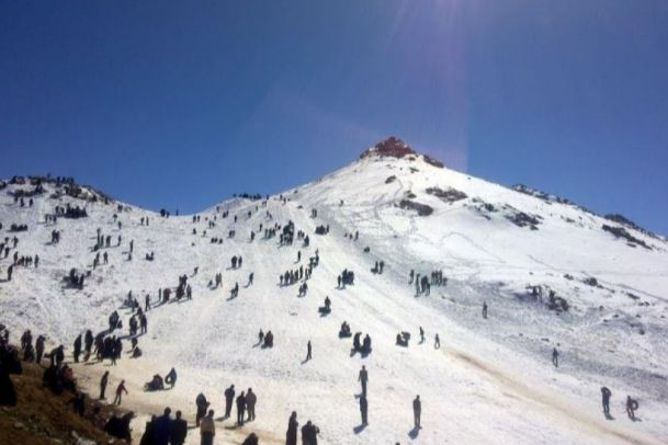 تصاویر تفرجگاه زمستاني سخوید (پیست اسکی، و مجموعه تفریحی)