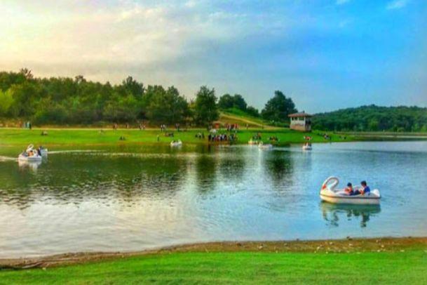 عکس دریاچه سد سقالکسار