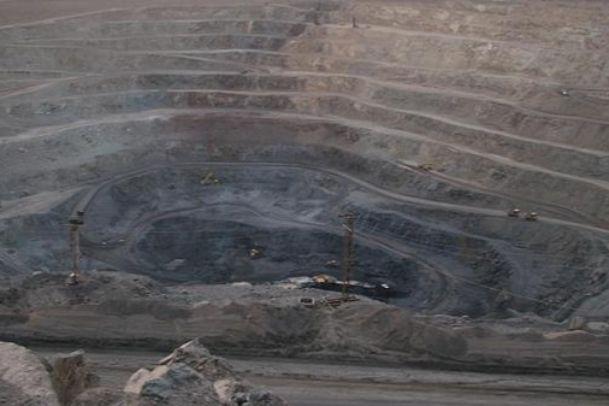 تصاویر معدن آهن چغارت
