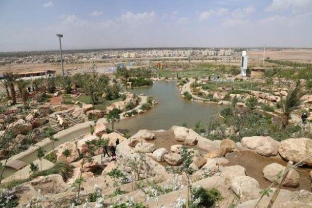 تصاویر پارک آهن شهر بافق