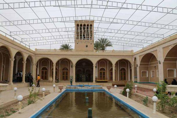 تصاویر باغ تیتو بافق