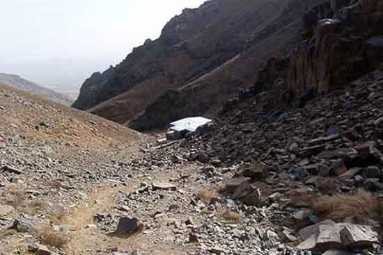 کوه الوند گلپایگان پوشش گیاهی