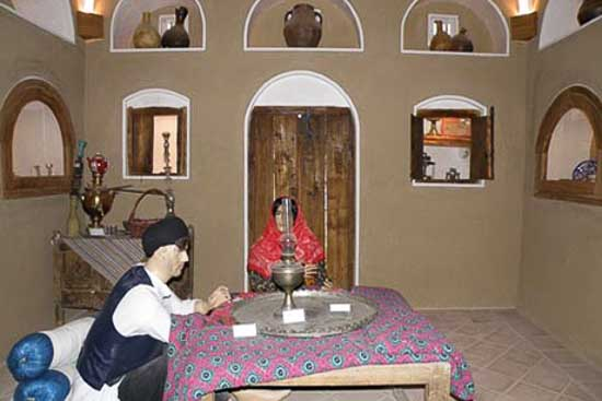 حمام تاریخی سلطان امیر احمد بعد از زلزله