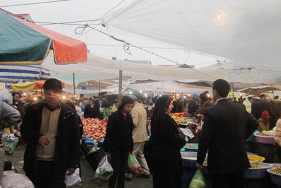 عکس بازار هفتگی یا محلی ماسال