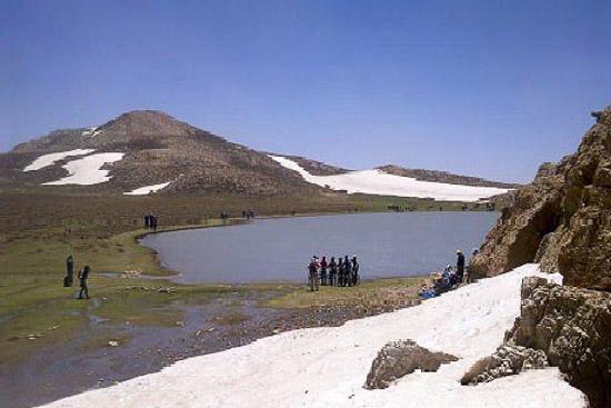 دریاچه برم فیروز فارس