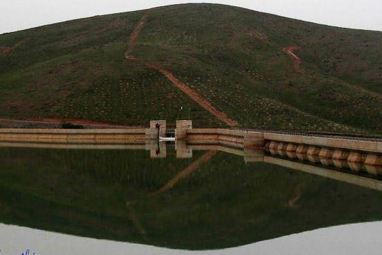 دریاچه سد اکباتان ( سد یلفان)