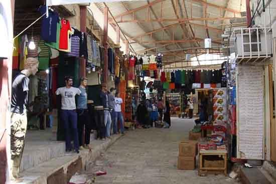 بازار قدیم قشم عکس
