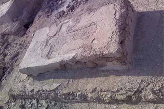 گورستان تاریخی روستای لافت عکس