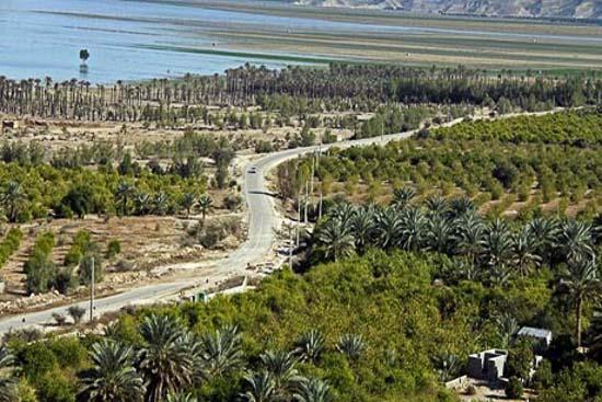 دریاچه فصلی هرم فارس