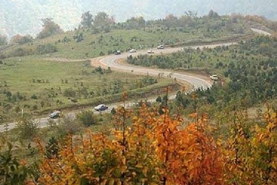 جاده گرگان شاهرود (توسکستان)