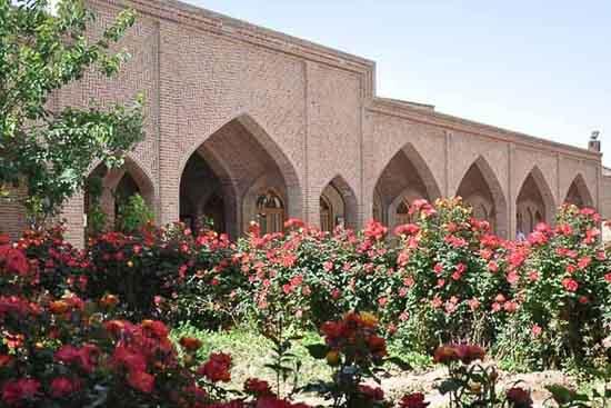 باغ پارک شمس تبریزی