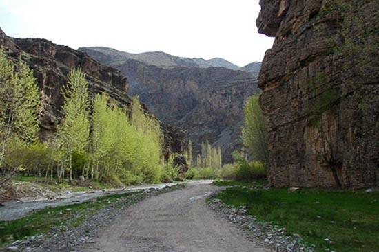 تصویر آبشار دره آل