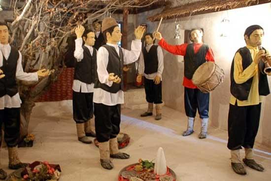 تصویر موزه مردم شناسی مشهد(حمام مهدی قلی بیک)