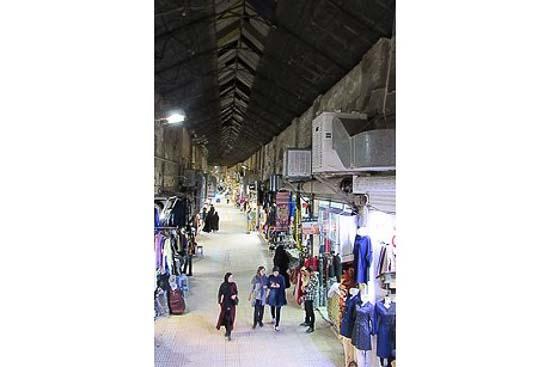 تصویر بازار قدیمی سرپوش