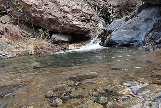 تصویر رودخانه زرقان (کمایستان)