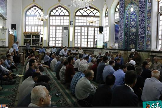 عکس مسجد بازار لنگرود
