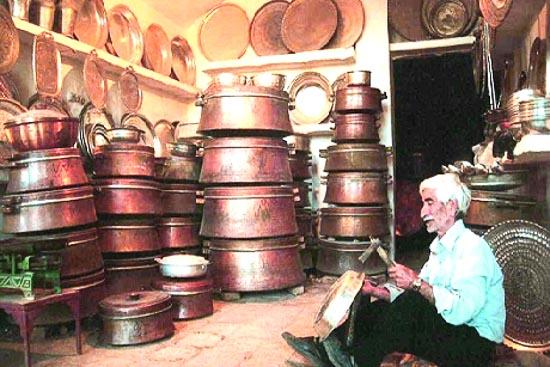 بازار مسگرها فارس