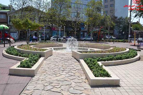 عکس پارک گلها