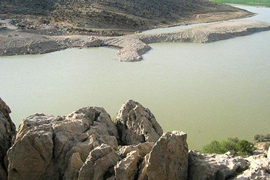 دریاچه سد تنگاب فارس
