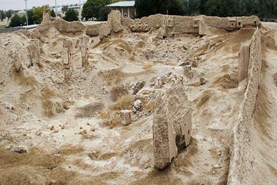 قلعه عظیم سفید اشکنان فارس