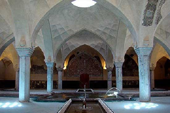 حمام شیخ بهائی حوضچه