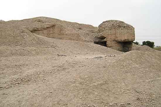 قلعه سارویه (تپه اشرف) دروازه
