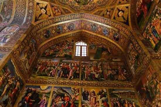 کلیسای وانک نقاشی