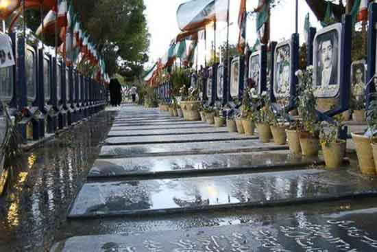گورستان ورنوسفادران سنگ قبرها
